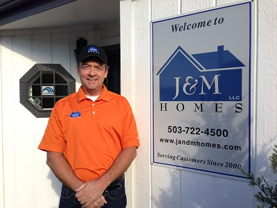 Jim Wilson, owner of J & M Homes, LLC